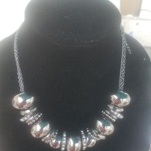 Paparazzi Mirrored Ball necklace with earrings